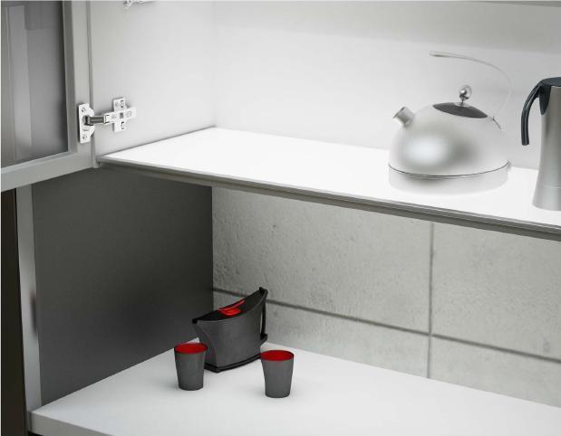 Base mueble alto iluminada con sensor jose a cocinas for Muebles rey zamora